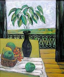 Still Life with Green Apples (45kB)